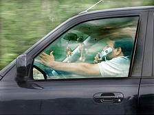 Ontario bans with cellphone use while driving