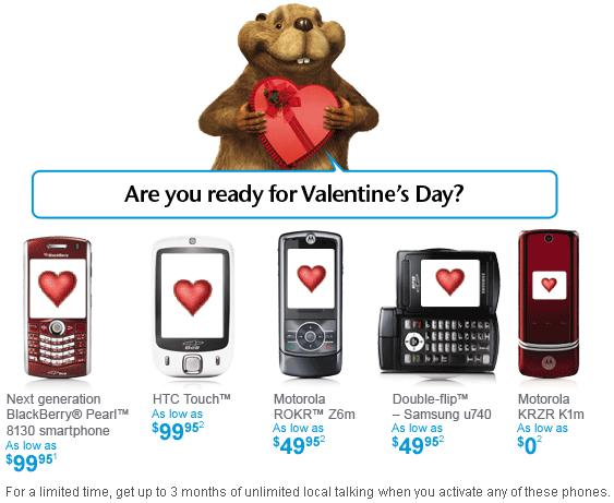 Bell Mobility Valentine's Day Promotions - MobileSyrup.com
