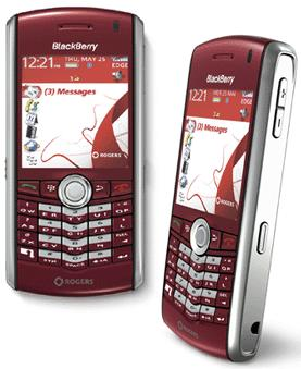 Rogers releases Red BlackBerry Pearl 8310 - MobileSyrup.com