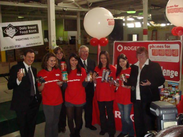 Rogers School Challenge - Daily Bread Food Bank - MobileSyrup