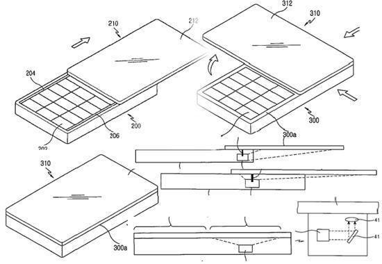Samsung patents 3D holographic with rear-projection screen cellphone