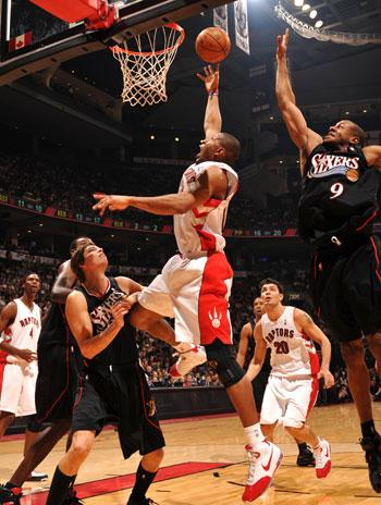 Sixers @ Raptors - Ron Turenne/NBAE/Getty Images