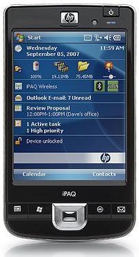 HP iPAQ 200 Enterprise Handheld