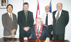 Mayor Dave and crew
