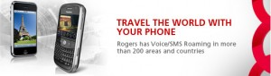"""Summers over... Rogers intros new """"Text Messaging Travel Packs"""""""