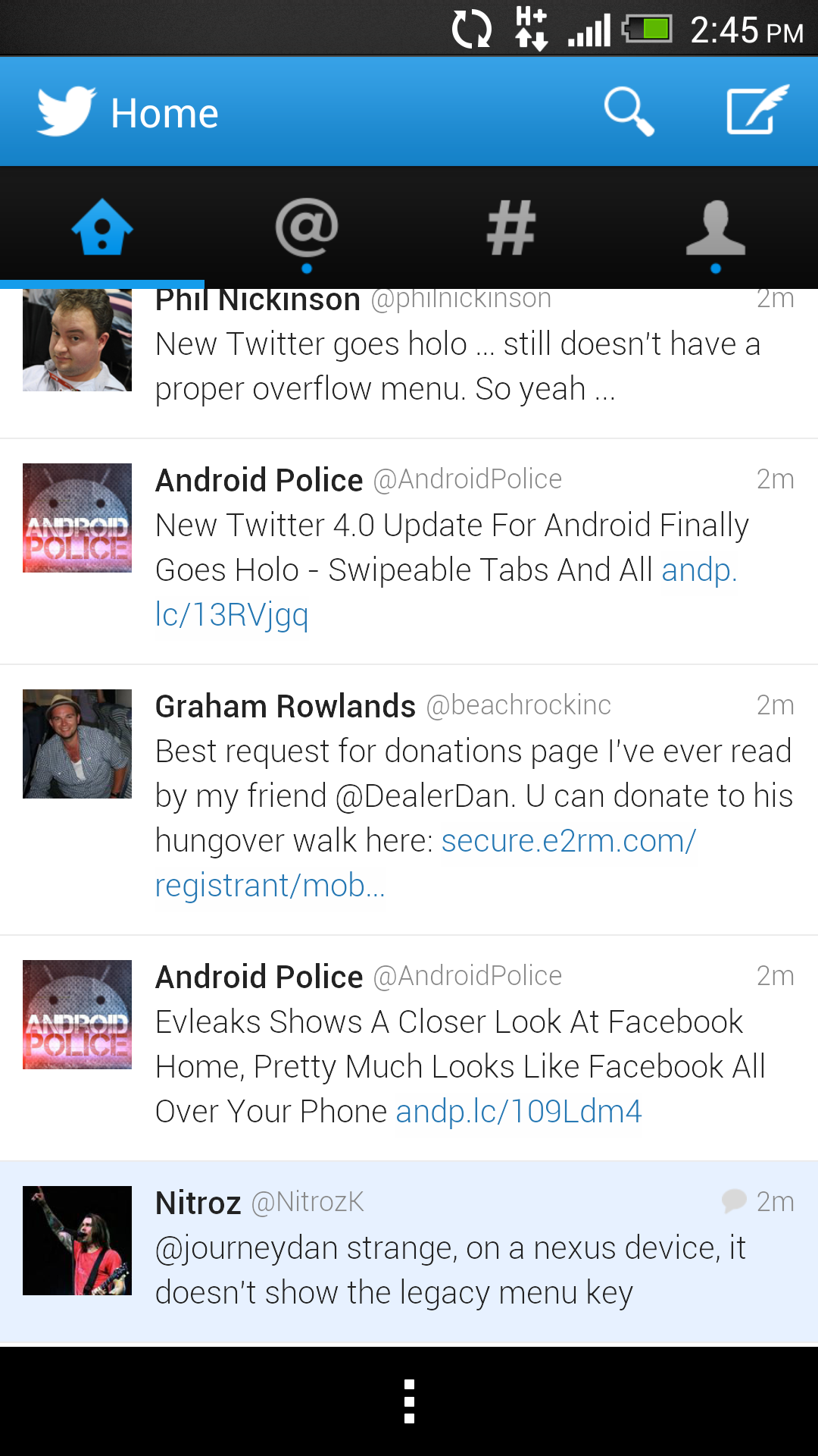 Great Twitter Update Now out for iOS and Android