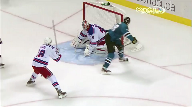 Amazing goal screen