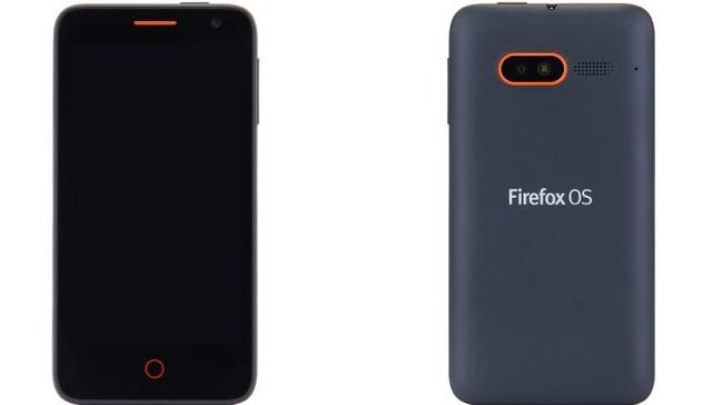 FireFox OS Flame smartphone