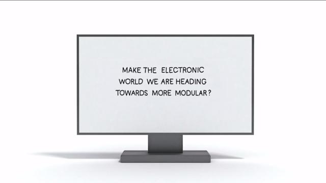 Phonebloks modular monitor