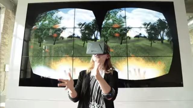 Myo armband and Oculus Rift