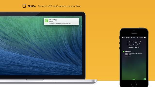Notifyr iOS app