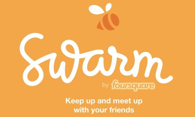 Swarm app by Foursquare