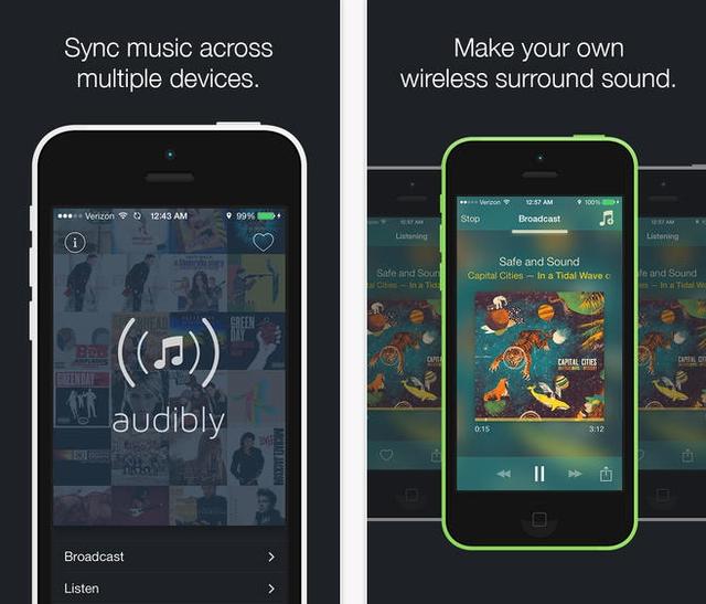 Audibly app for iOS