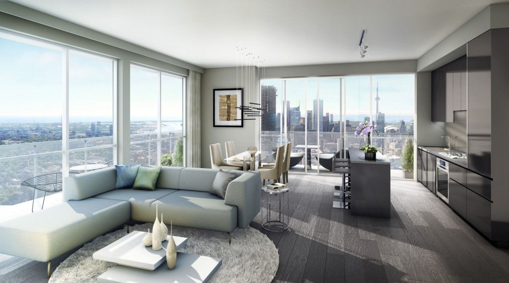 YC Condos - Penthouse Interior