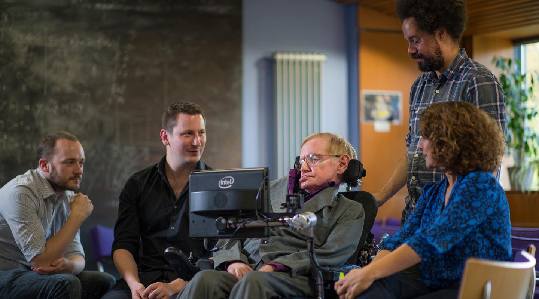 Stephen Hawking SwiftKey