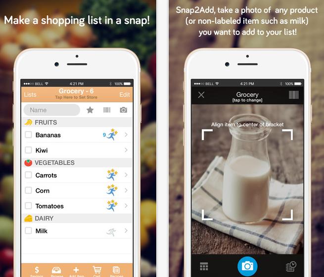 Shopper app iOS