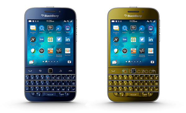 blackberry classic blue bronze