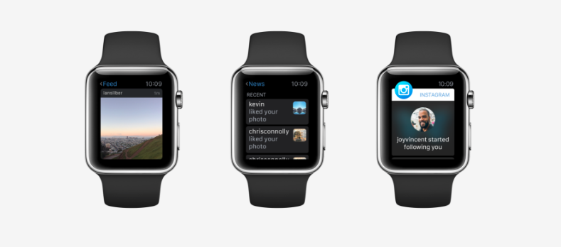 Instagram for AppleWatch