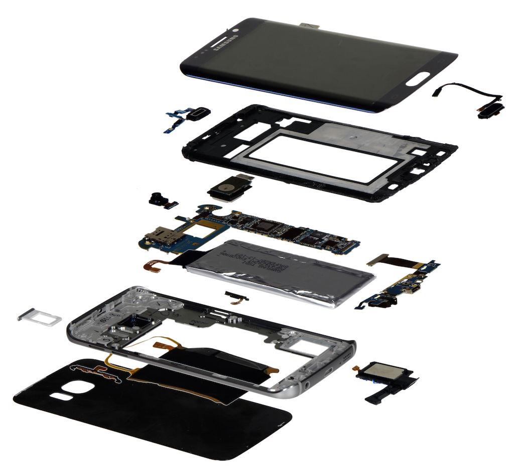 S6 Edge breakdown