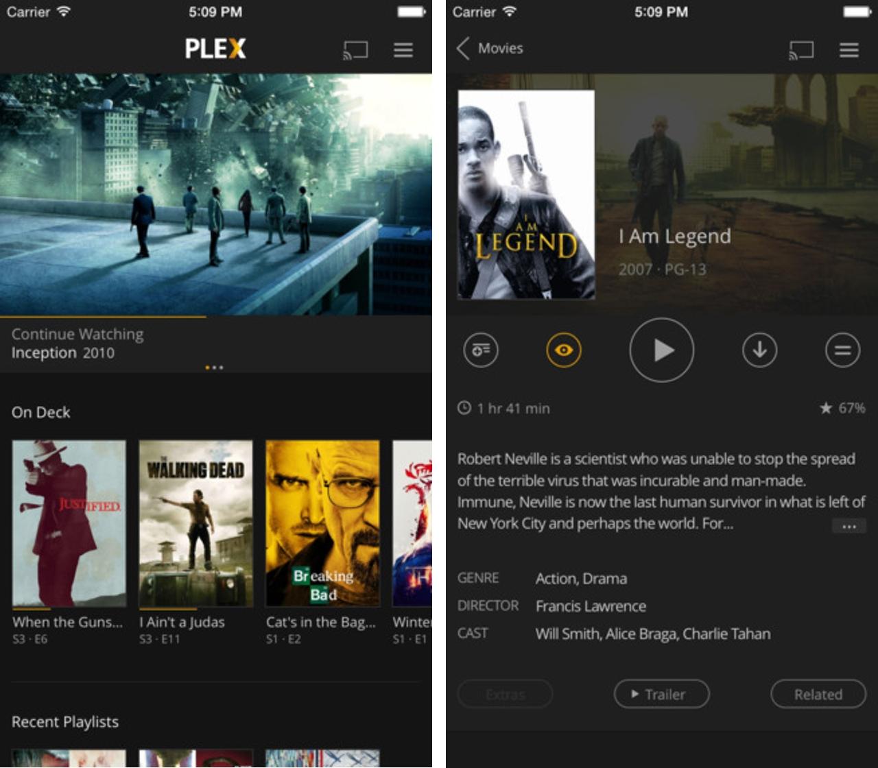 Plex iOS