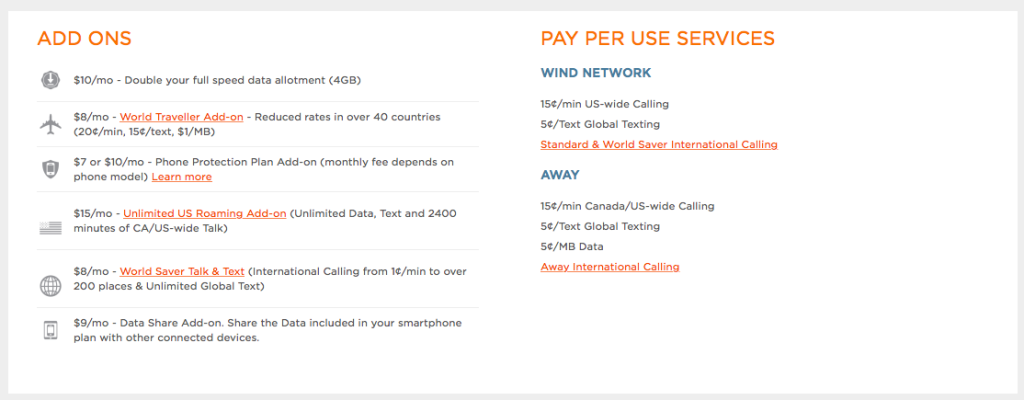 Wind Mobile Share Add-on