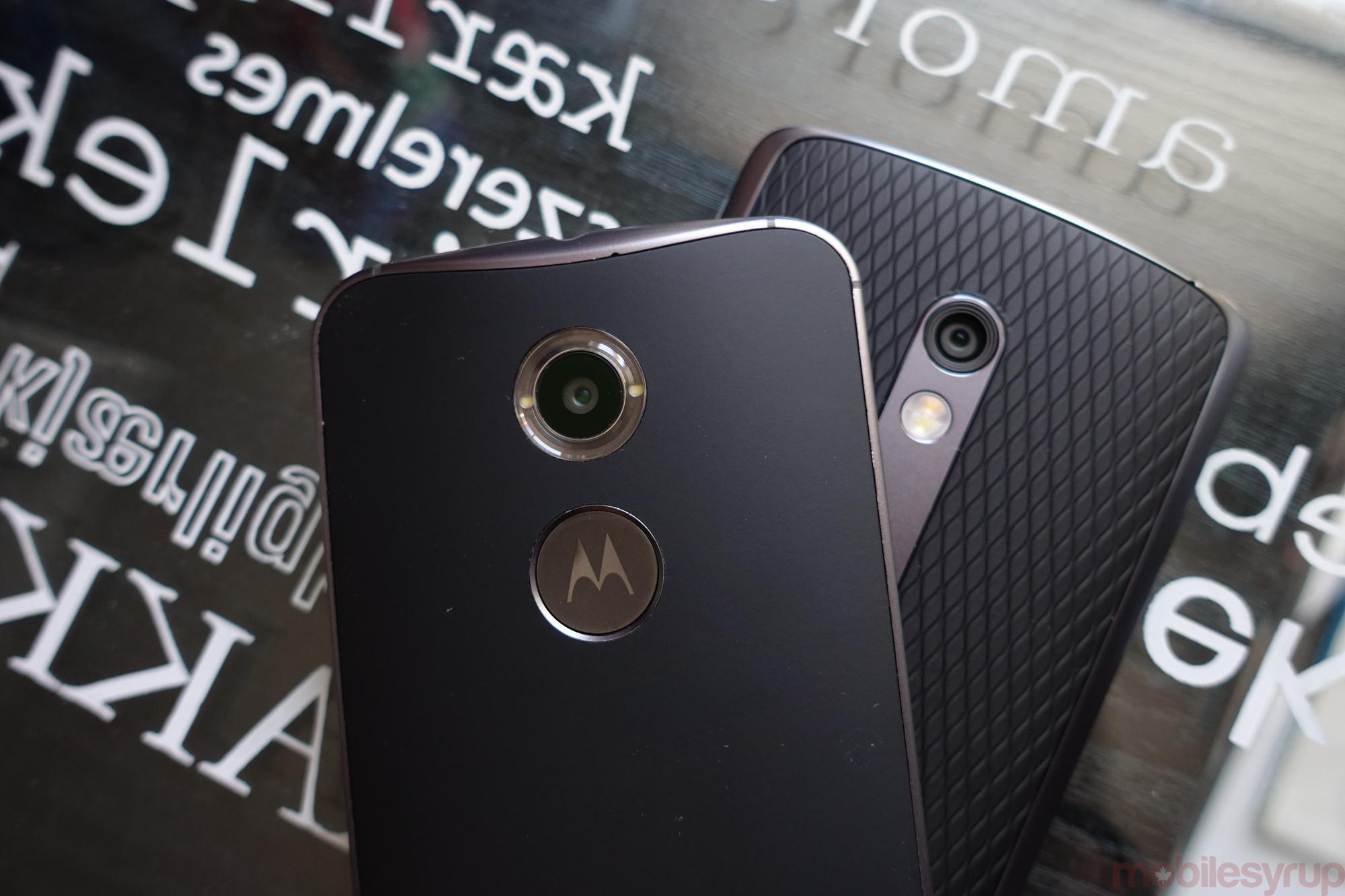 Moto Play and Moto X