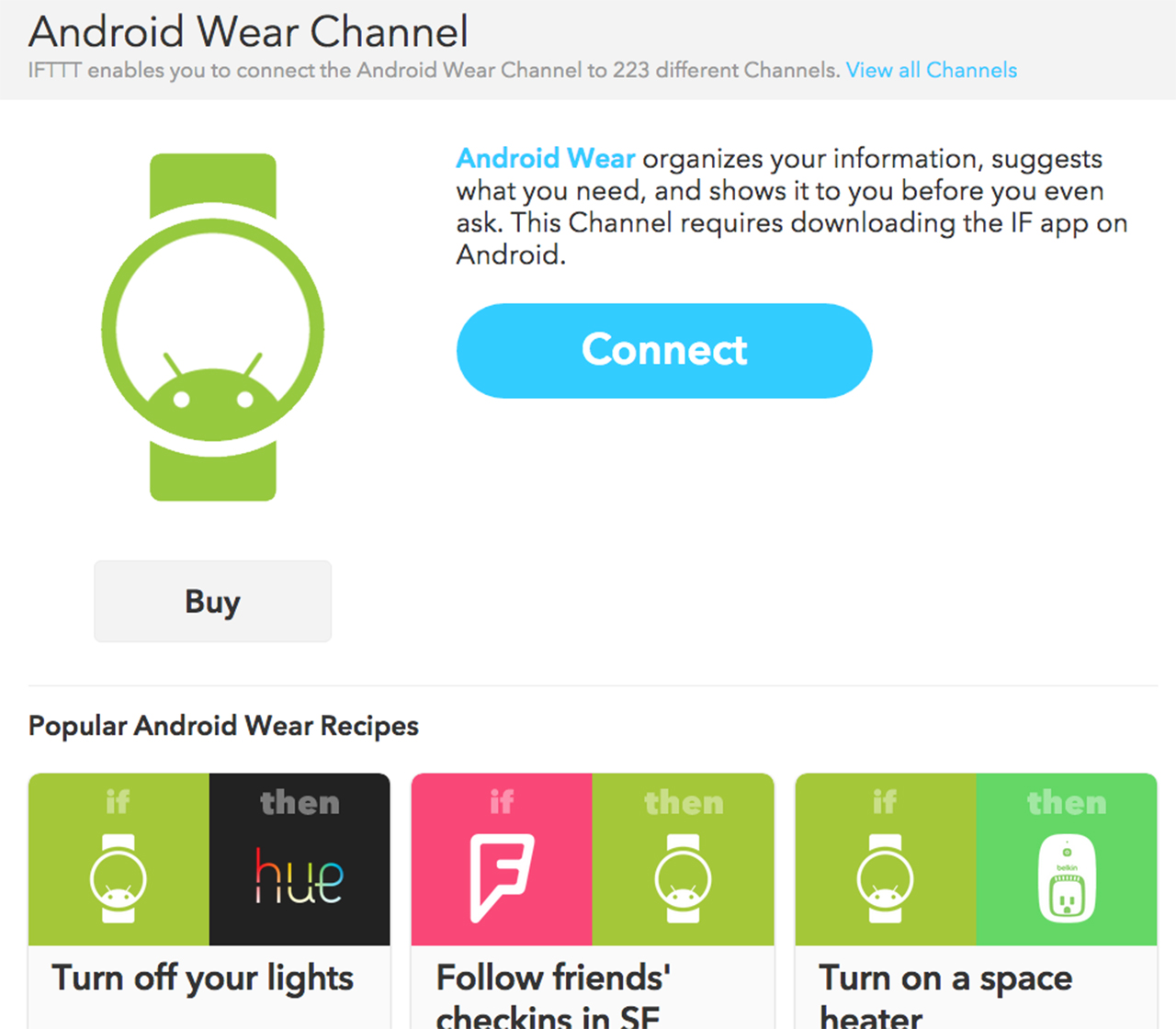 Android Wear IFFT