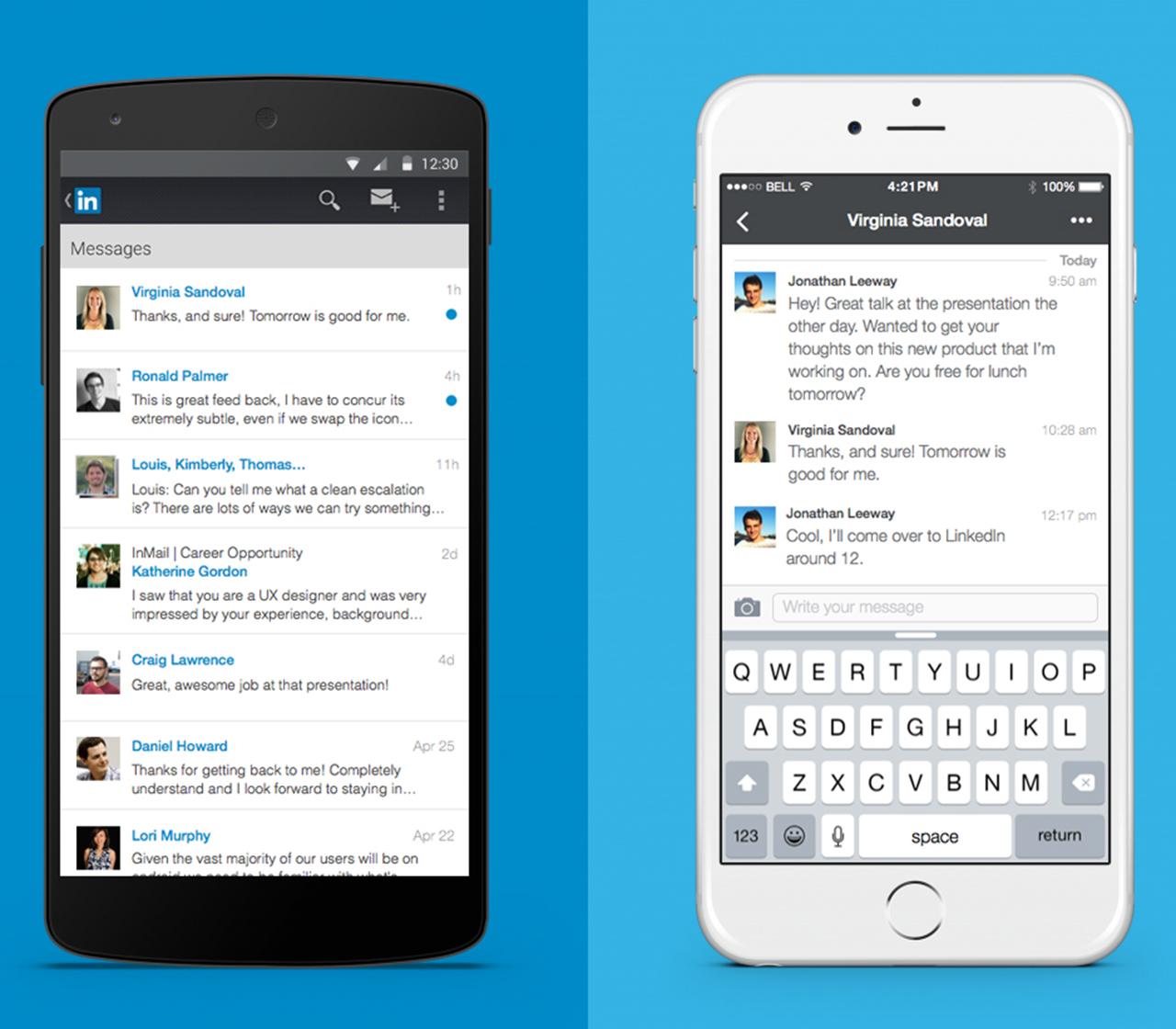 linkedin messaging