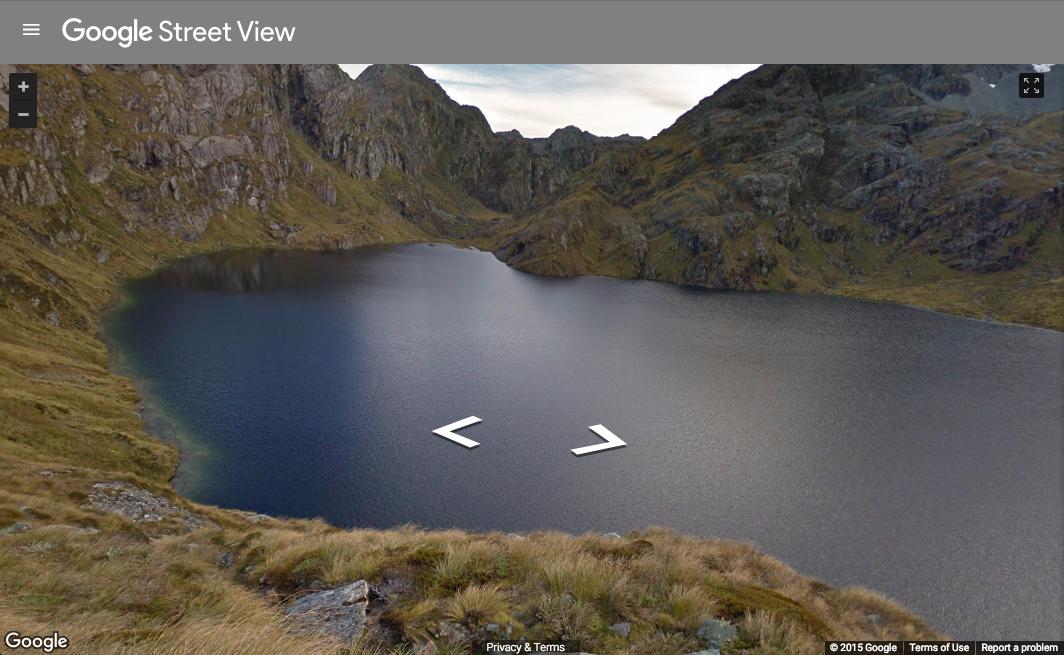 Google Street View New Zealand