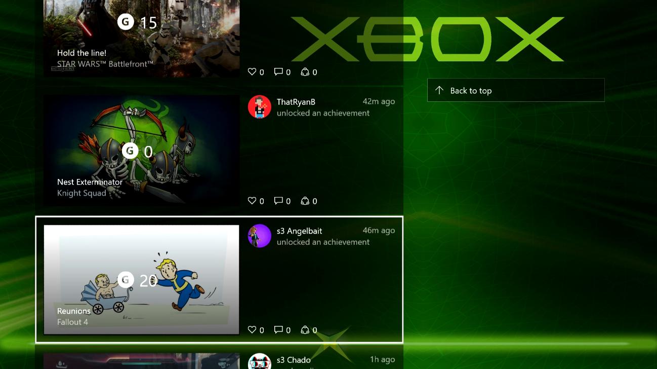 Xbox One OS 4