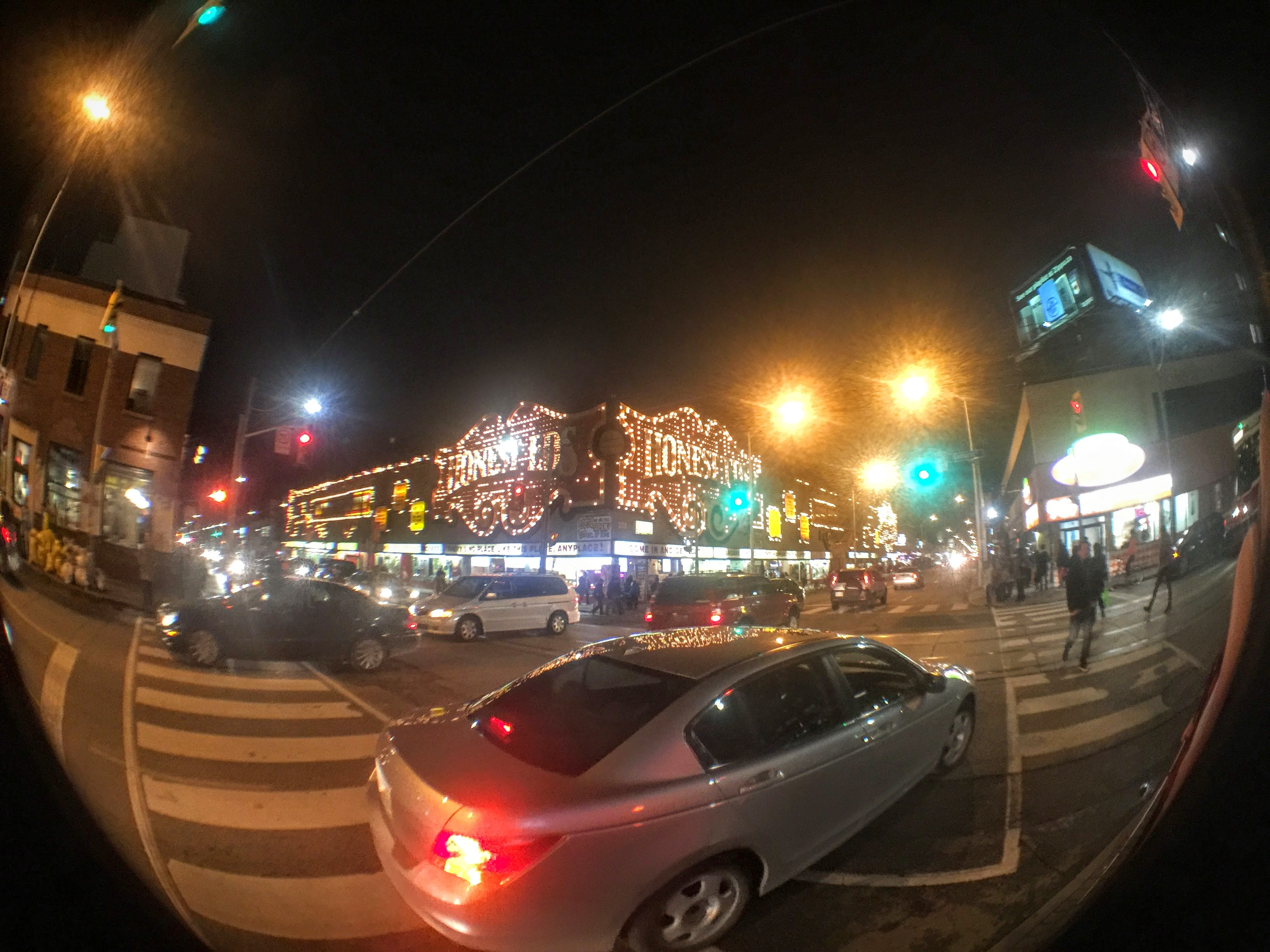 One of Toronto's more iconic (and soon to be gone) landmarks. Shot with the Olloclip's fisheye lens.