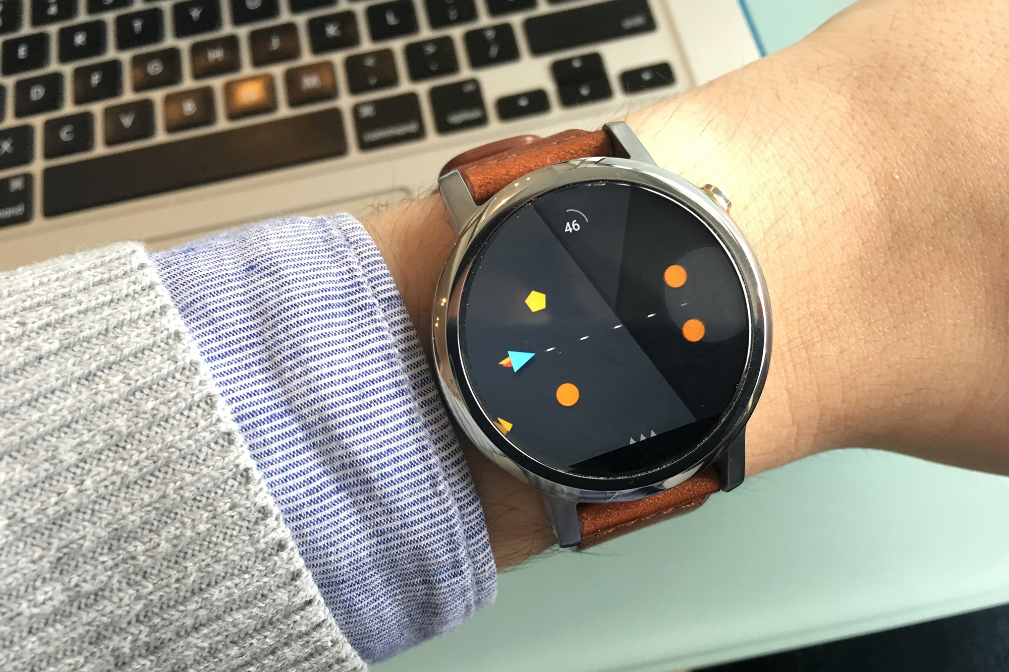 Papercraft android wear