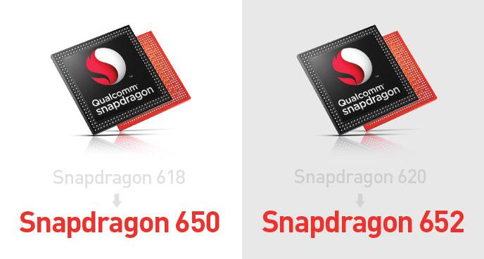 Qualcomm Snapdragon 618 and 620