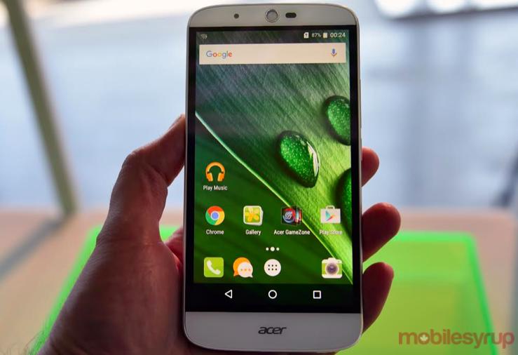 Acer Liquid Zest Plus front