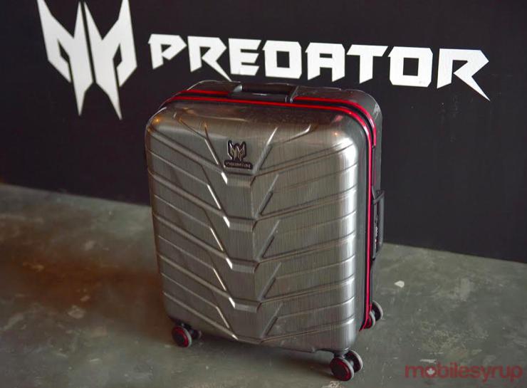 Acer Predator desktop suitcase
