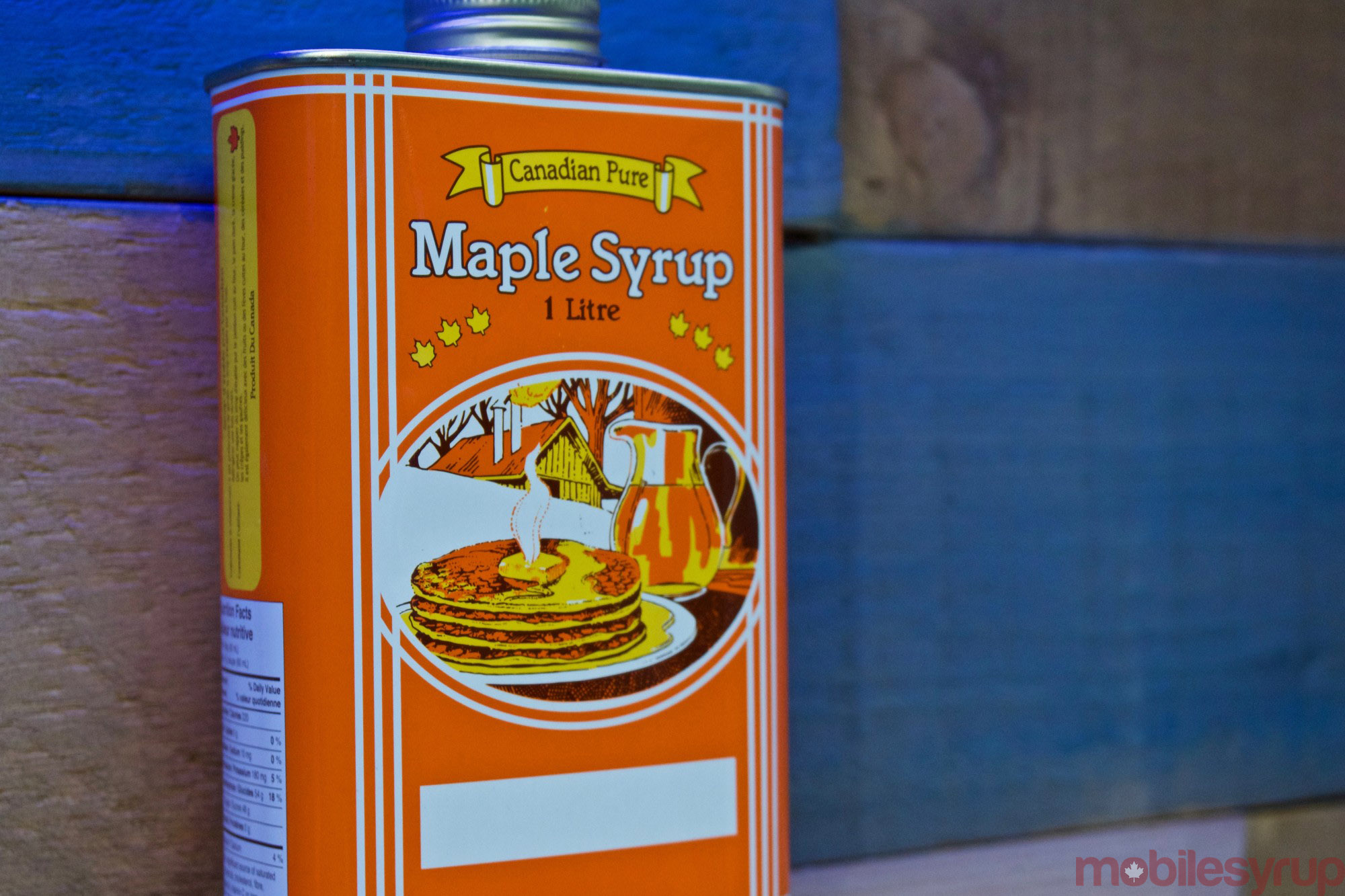 Try as I might, I did not find a can of Mobile Syrup in Twitter Canada's office.