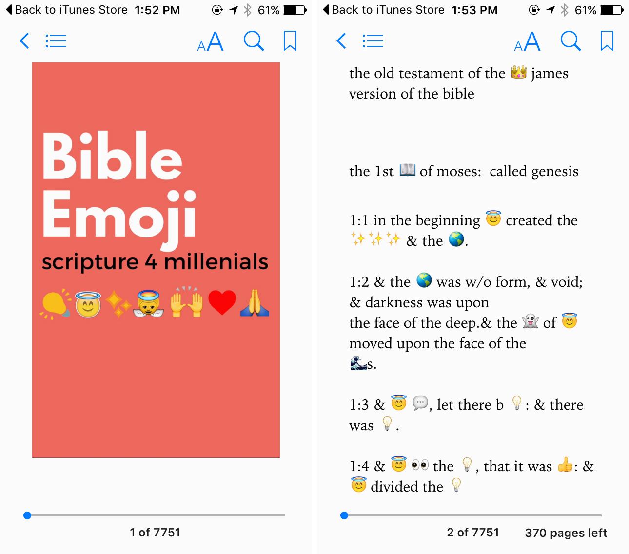 emoji bible