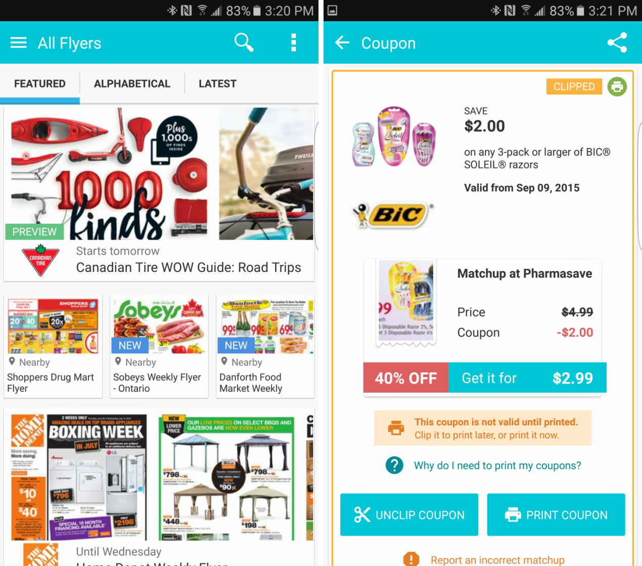 flipp coupon app