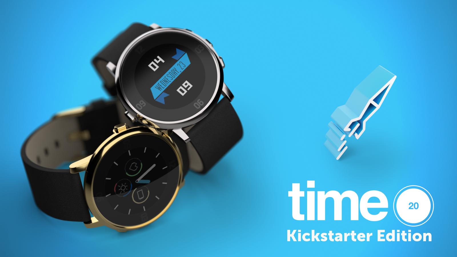 Pebble Time Round Kickstarter