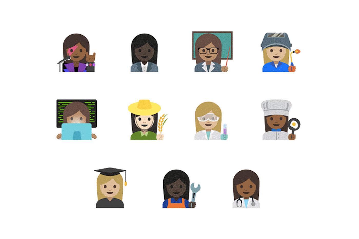 Female Unicode emoji