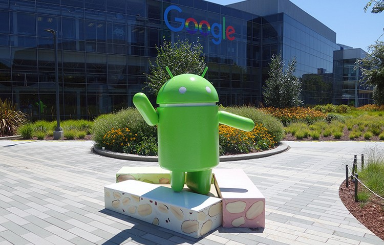 Android Nougat mascot - android download numbers