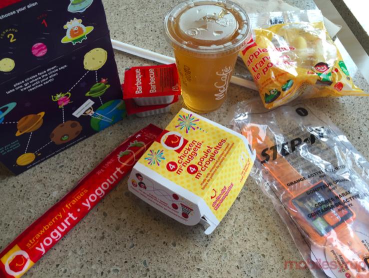 McDonald's Canada bundles Step-it activity tracker mobilesyrup2