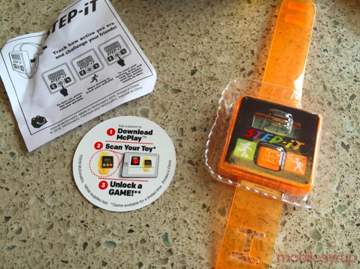 McDonald's Canada bundles Step-it activity tracker mobilesyrup5