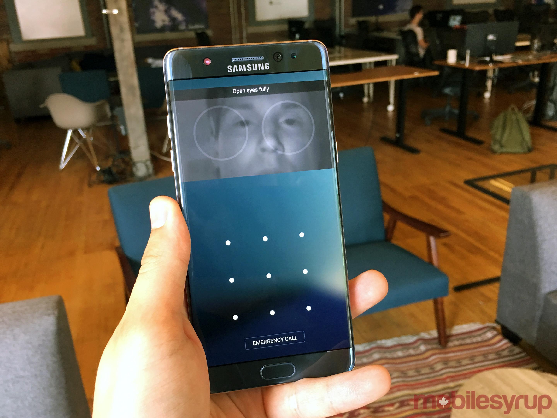 note7irisscanner