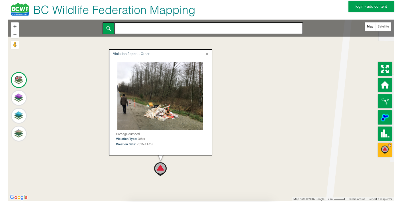 bc wildlife violation mapp