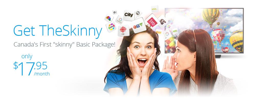 skinny package vmedia