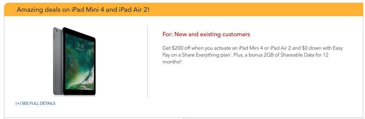 Rogers iPad deal