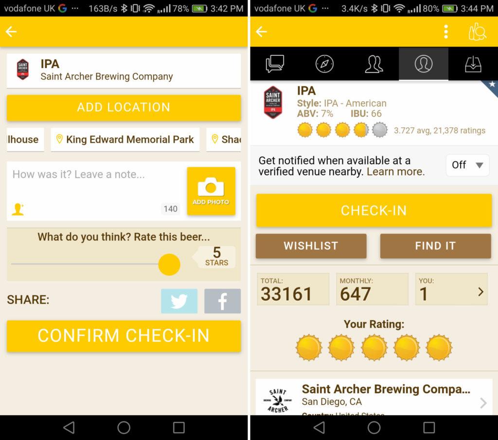 untappd beer app 2