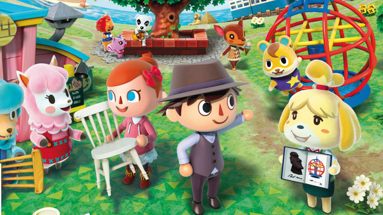 Animal Crossing Nintendo game