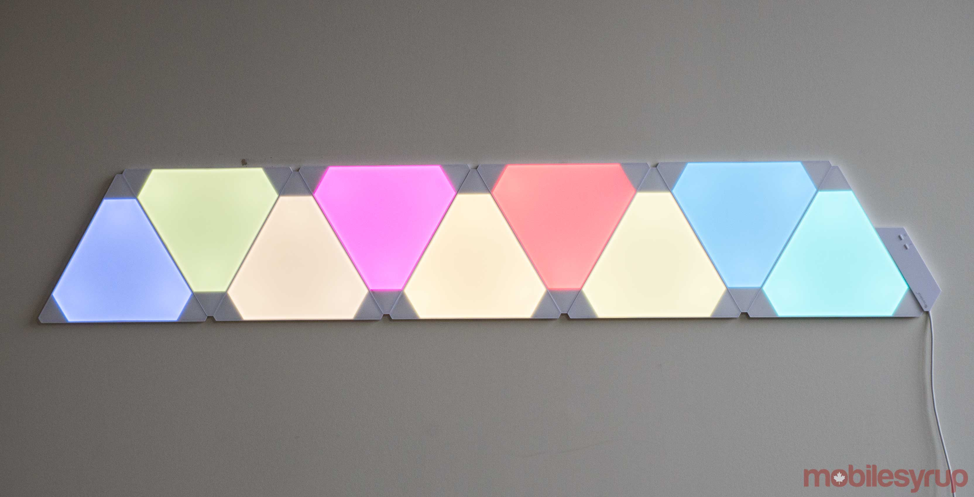 Toronto-based Nanoleaf\'s modular Aurora lights will trip you out ...